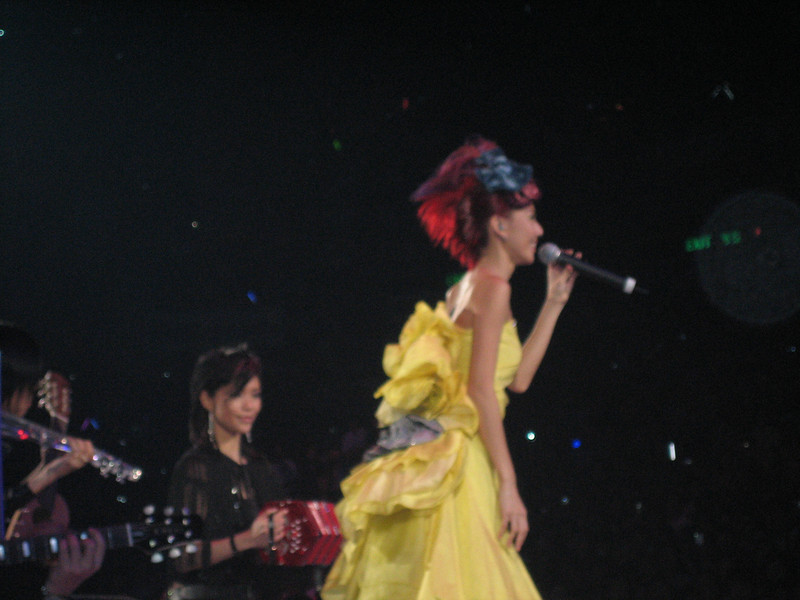 IMG_0234 <br /> Photo of Stefanie Sun in Concert 2005