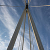 Geometry of a suspended bridge I