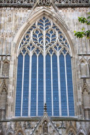 York Minster's front window