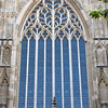 York Minster's front window