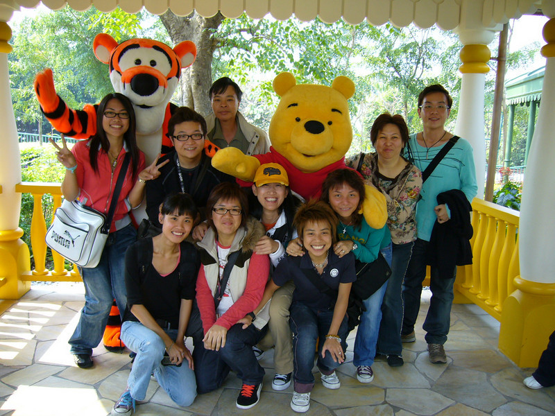 P1010676 <br /> Elaine, Eva, Hei, 朋朋, Connie, Peggy, Tracy, BoBo, 媚媚 and Hois