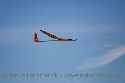 Model Aircraft - against blue Sky