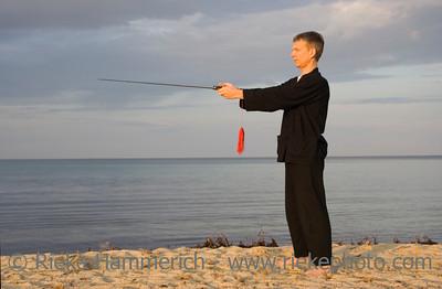 tai chi - posture the compass - art of self-defense - adobe RGB