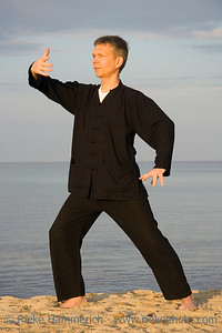 tai chi - posture ward-off - art of self-defense - adobe RGB