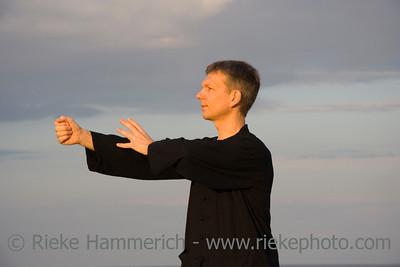tai chi - posture punch - art of self-defense - adobe RGB
