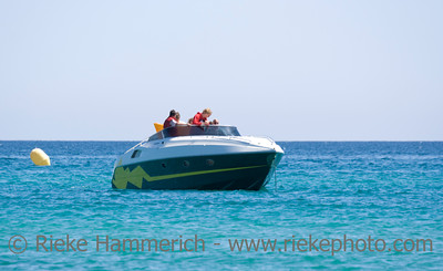 speedboat with family - saint-tropez, french riviera - adobe RGB