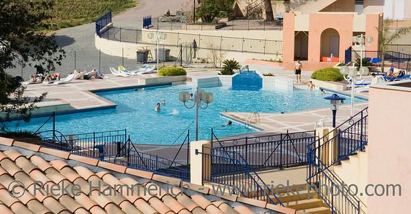 mediterranean swimming pool - french riviera - adobe RGB