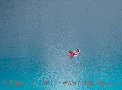 canoe on the moraine lake - banff national park, canada - adobe RGB