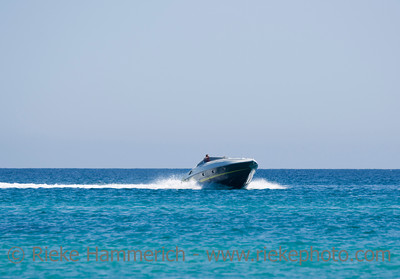 speedboat with captain - saint-tropez, french riviera - adobe RGB