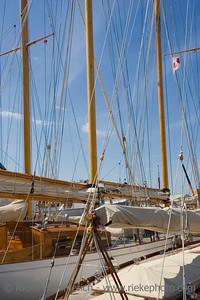 sailing yacht, launched 1937 - saint-tropez, mediterranean sea - adobe RGB