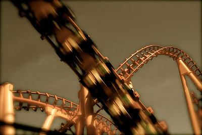 7 • Orange Steel  • Six Flags  • Vallejo, CA - 2010