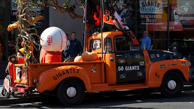 10 • Orange Ride  • Outside AT&T Park prior to Giants vs Phillies Playoff Game • San Francisco, CA • October 19, 2010