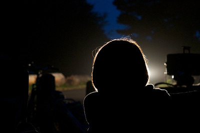 74 • Campground Silhouette  • Sarah's Silhouette @ Van Damme Campground • Mendocino, CA • 2011 (posted 6/30/2011)