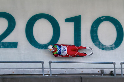 50 • Slider  • Bogdan Macovei - Moldova • Vancouver Winter Olympic, Men's Luge Finals • Whistler, BC Canada • 2010 (posted 2/15/11)