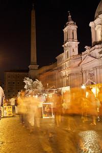 82 •  Souvenirs  • Street Art Merchants @ Piazza Navona • Rome, Italy - 2010 (posted 9/14/2011)