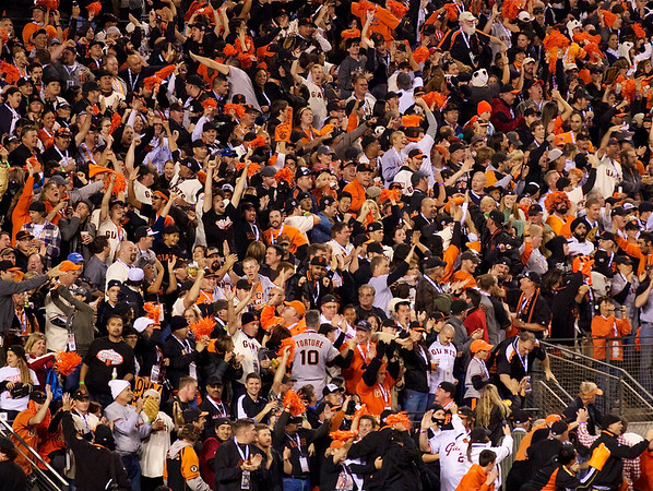 23 • No Torture  • Immediately following Freddie Sanchez' 3rd straight double • 2010 World Series Game #1 • AT&T Park • San Francisco, CA • 2010