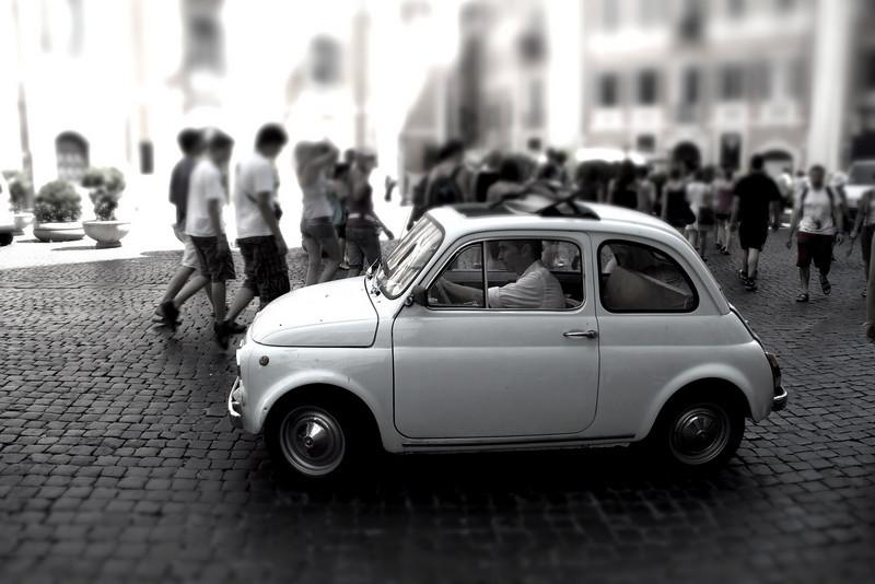 4 • Roman Chariot  • Rome, Italy • 2010 • iPad Editor