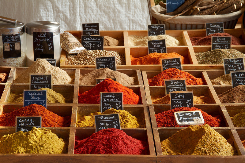 33 • Spice  • At the market in Versailles • Versailles, France • 2010