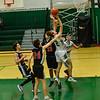 KRISTOPHER RADDER — BRATTLEBORO REFORMER<br /> Leland & Gray's Luke Parker-Jennings takes an attempt at the basket during a boys' varsity basketball game against BV Long Trail School on Monday, Jan. 13, 2020.