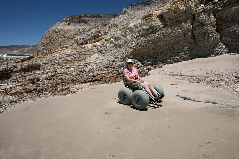 Lunar rover beach buggy.