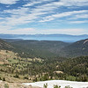 Lake Tahoe view on the east side of the ridge.