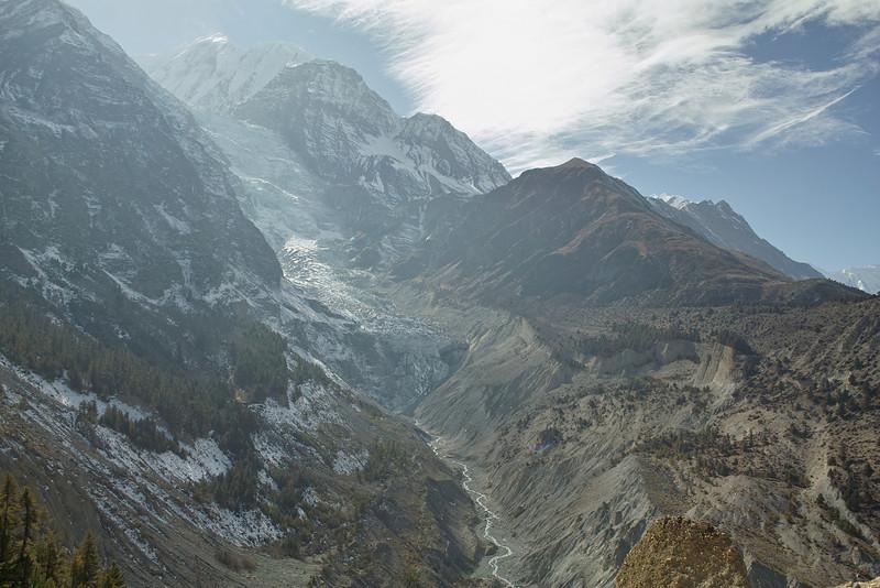 Gangapurna Icefall.