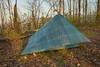 My tent - Lightheartgear Solo w/cuben fiber canopy and silnylon floor.