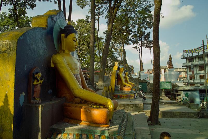 Swayambhunath - the 'Monkey Temple'.