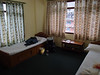 Huge double room at the Budda Lodge at Syabru.  A nice place.
