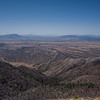 Looking west, from the Huachuca mountains.
