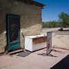 Maildrop location ('freezer behind store') at Klondyke.