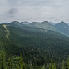 Along the Whitefish Divide.