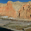 Dhakmar panorama.  The single lodge is just left of center.