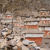 Lots of classically Mustang/Dolpo chortens at Namgung.