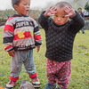 Two terrible twos at Ghunsa.