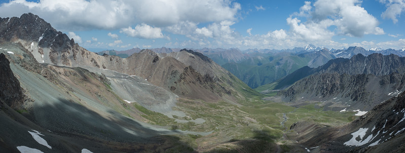 View from Ala-Kol pass