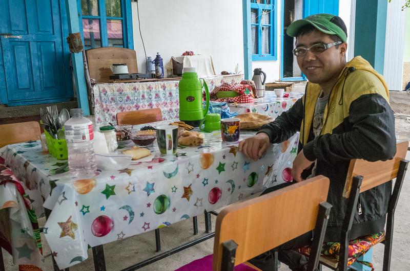 Samat, trekking cook/translator for both treks.