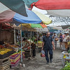 At the bazaar in Osh.