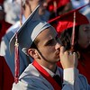 DAVID BORRELLI - THE CENTRAL RECORD<br /> A Lenape High School graduate ponders over the past 4 years.