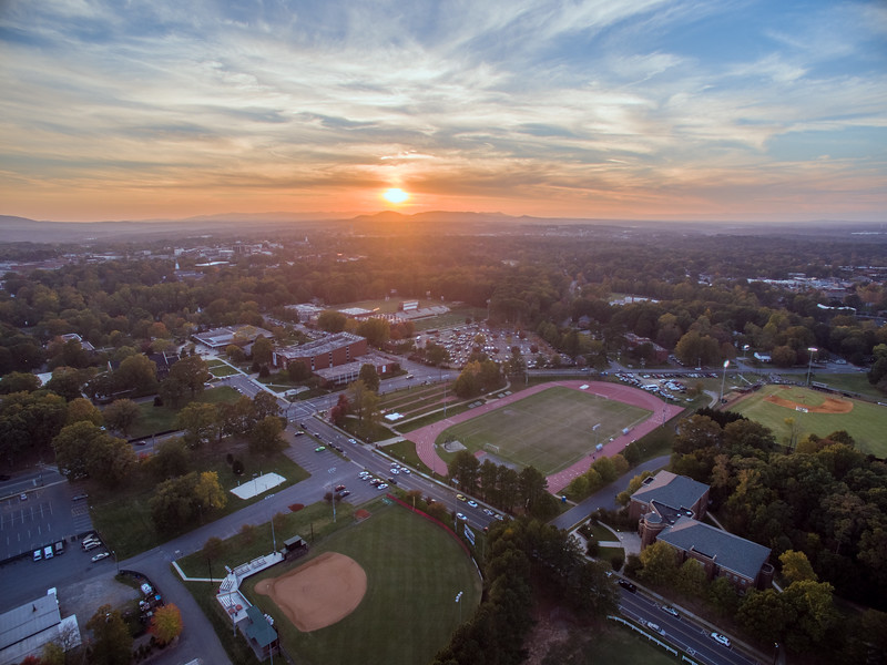 Lenoir-Rhyne University Athletic Fields HDR