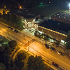 Lenoir-Rhyne University | McCrorie Center | Night Aerial