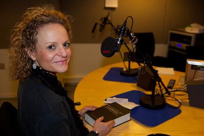 """I studiet hos Pieter Raunwe, Danmarks Radio, i anledning af udgivelsen af """"Nu Gælder Det Danmark!"""""""