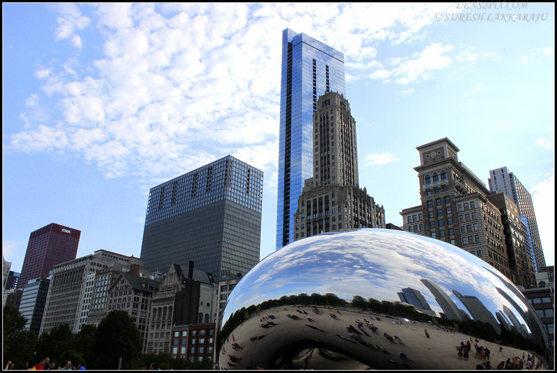 Chicago - Millennium Park - Bean Structure