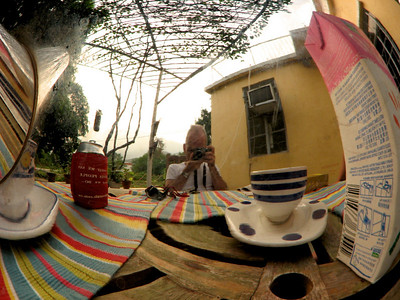 Teapot fish-eye