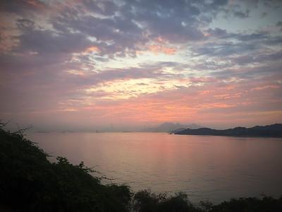 Dawn Over HK Island