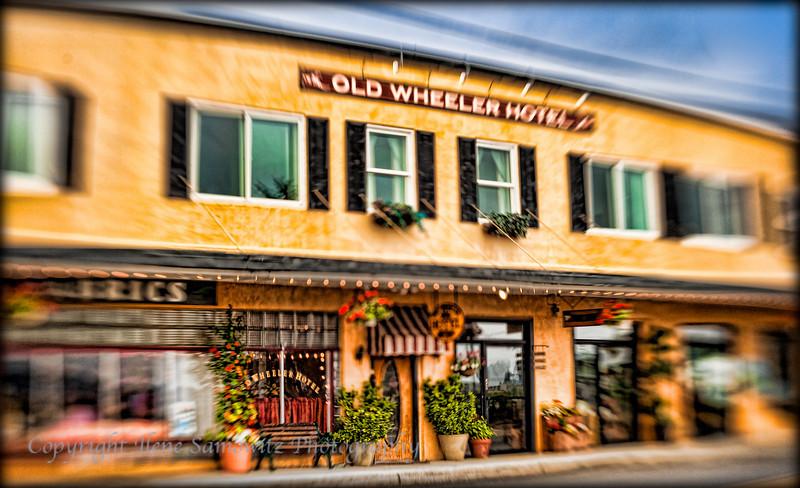 Old Wheeler Hotel, Wheeler, Oregon