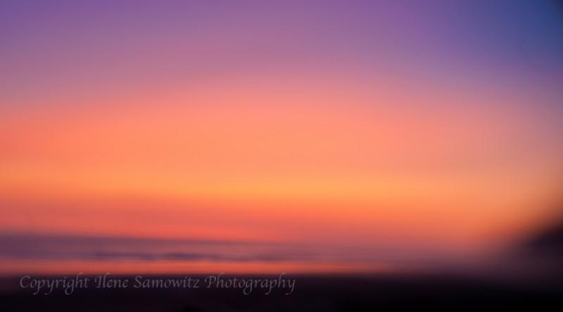 Sunset at Manzanita, Oregon Coast