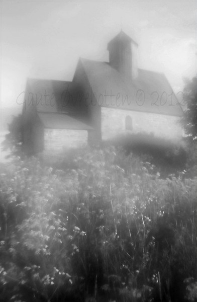 St. Petri (church). [Lensbaby Composer Pro ZonePlate; BW in Silver Efex Pro 2, edited in PSE10.]