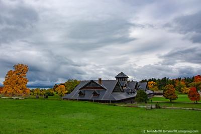 """""""Autumn Sky over Breeding Barn"""""""