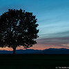 Autumn Sunset at Shelburne Farms